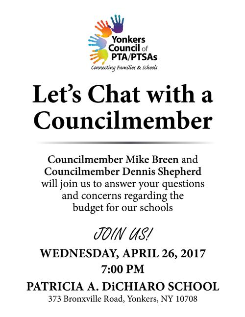 Let's Chat with a Councilmember