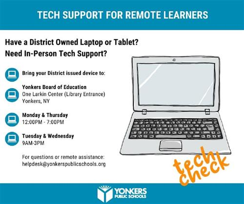 Tech Support For Remote Learners