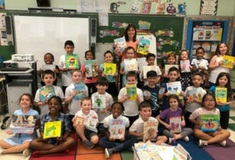 Mrs. Strommer's class wins $500 worth of books!