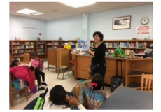 CHA Hosts Author Visit with 1st Graders