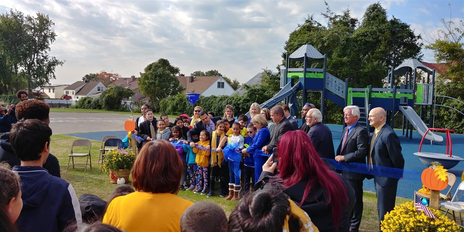 Playground Ribbon Cutting Ceremony