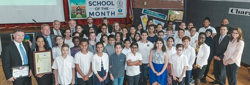 Kahlil Gibran School is Mayor Spano's School of the Month