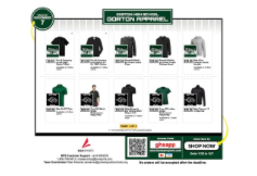 Order your Gorton Gear before it is too late!!!  Store closes on December 7th!
