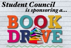 Unified Student Council Book Drive