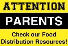 Please check out our list of food distribution resources!!!