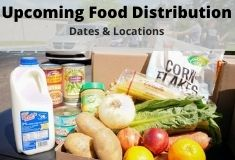Upcoming Food Distribution Dates & Locations