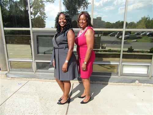 Assistant Principal - Ms. Majors and Principal- Dr. Washington