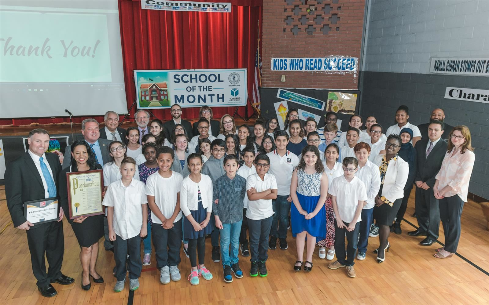 School of the Month  - May 2019