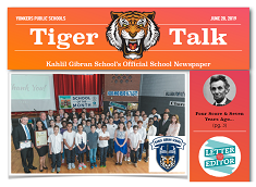 Tiger Talk  - June 2019