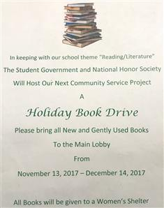 Holiday Book Drive