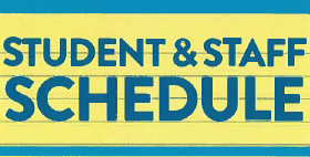 Spring Schedule, Procedures & NYS Testing Information/Student Schedule