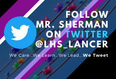 Follow LHS on Twitter