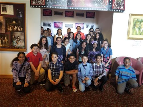 6th Grade Takes a Trip to the Westchester Dinner Theater