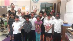 Ms. Jett's Class Celebrates Red Nose Day