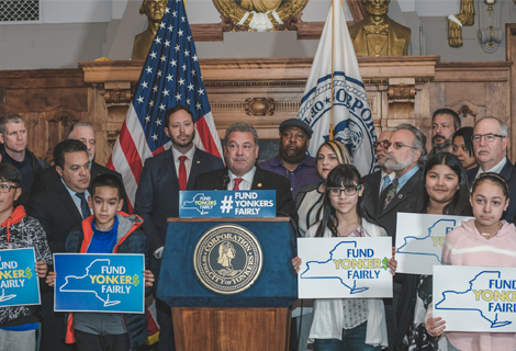Mayor Spano & City Advocates Call on New York State to Fund Yonkers Schools Fairly