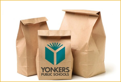 Picture of brown lunch bags