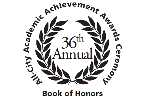 Image of the Academic Achievement Awards Logo