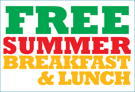 Free Summer Breakfast and Lunch