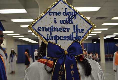 Graduation Cap: One Day I Will Engineer the Impossible