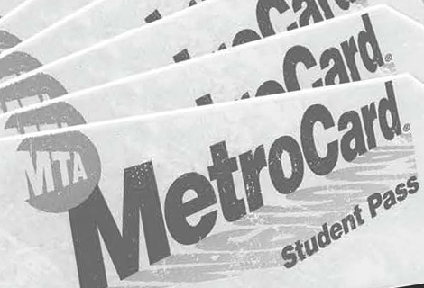 Image of a student metrocard