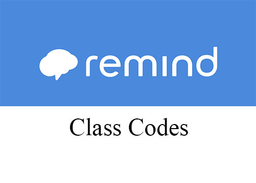 Remind Codes