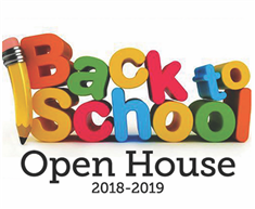 Open House Will Take Place on October 4th @ 6:00 p.m.