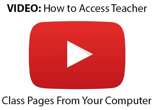 VIDEO: How To Access Teacher Pages On A Computer