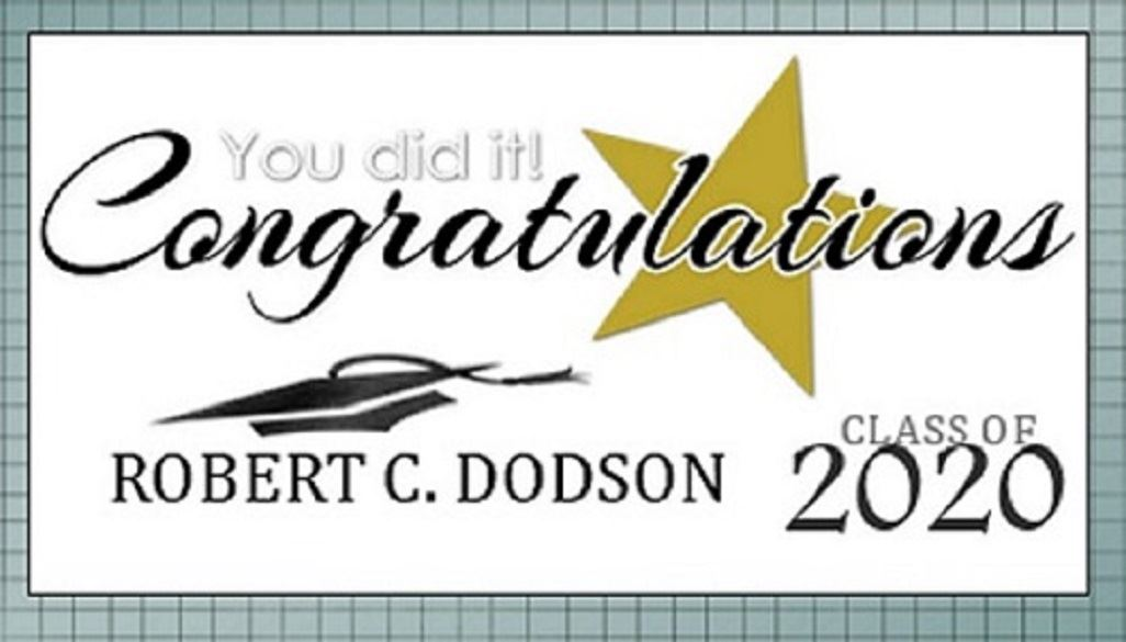 Robert C. Dodson Moving Up Ceremony 2020