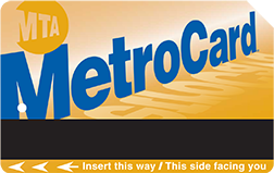 Application for free MetroCard