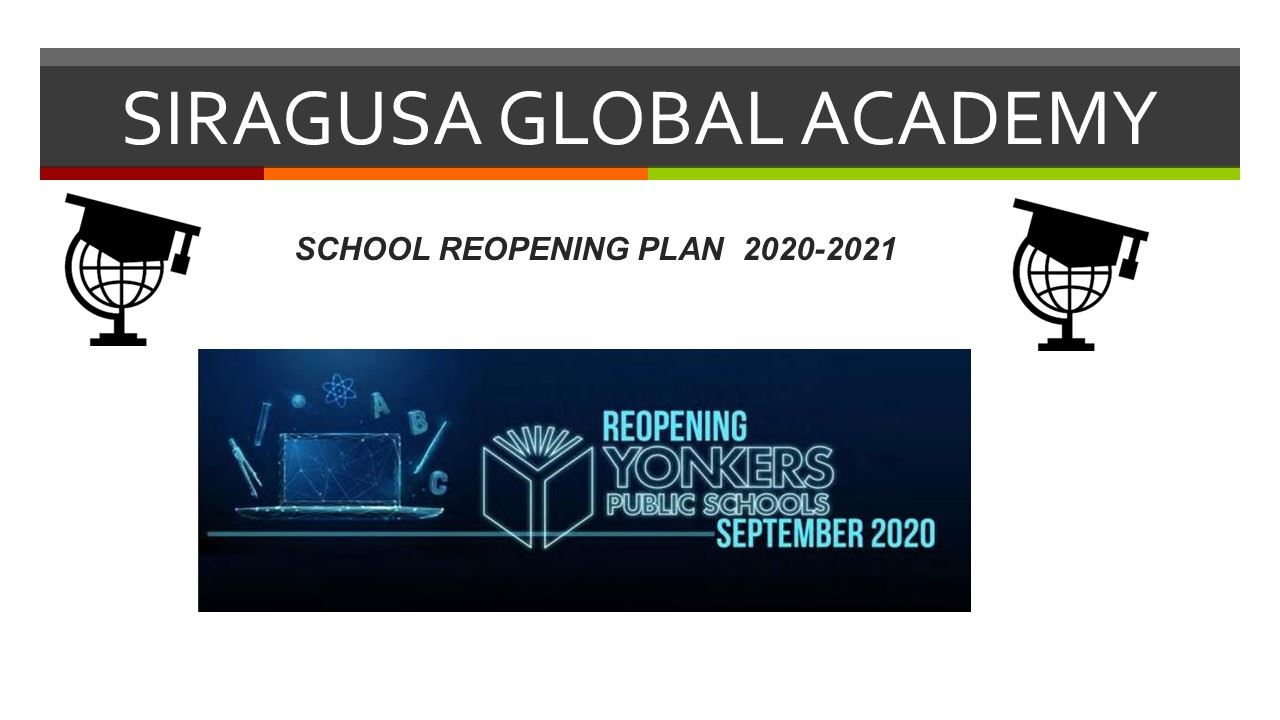 Siragusa School Reopening Plan