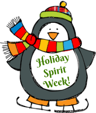 Come help Saunders HS celebrate the holidays during Holiday Spirit Week! Click for schedule.