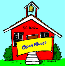 Open House Tuesday 9/26/17 at 6PM