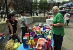 Community School 13's YASA Business Fair was on Saturday, June 1
