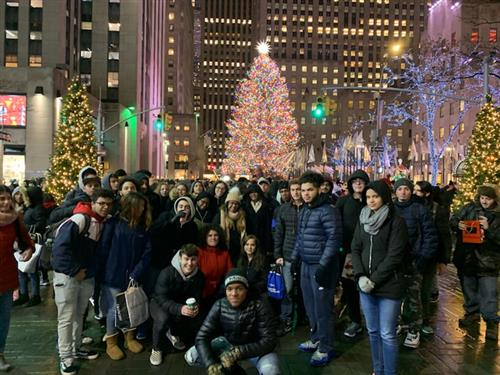 YMA Annual Ice Skating Trip