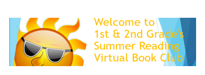 Virtual Reading Book Club - 1st & 2nd Grade
