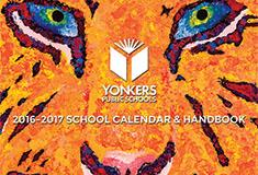 This gorgeous showcase of student art is also the District's award winning annual calendar and hand