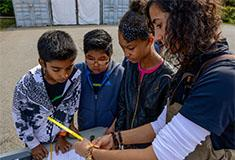 Student scientists from Riverside High School and Museum School 25 participated in A Day in the Lif
