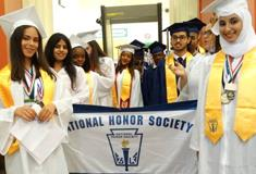 The District's graduation rate increased to 82% for students who first entered 9th grade in 2012, o