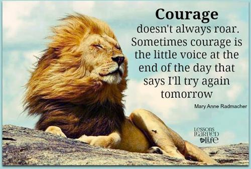 Courage Lion